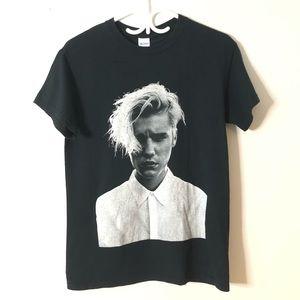 Justin bieber purpose tour shirt black size small